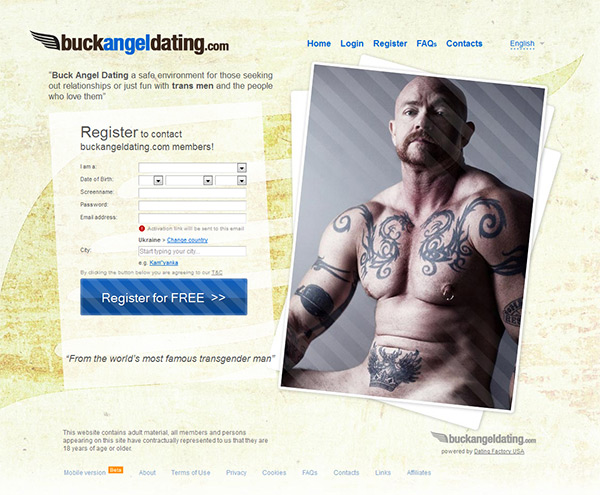 free trans dating site