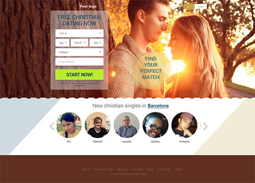 Christian Dating Niche Template
