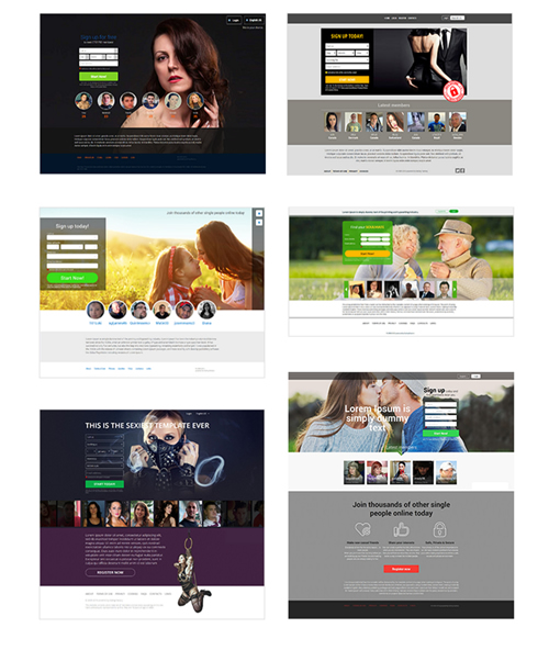 Dating Factory Responsive Templates