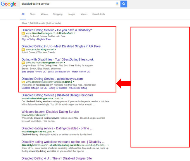 Google Text Ad Changes For Online Dating